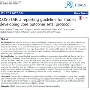 DD publication 2015 - HRB Trials Methodology Research Network  HRB-TMRN